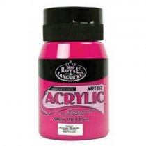 Akryle Royal Essentials 500 ml. - Primary Magenta