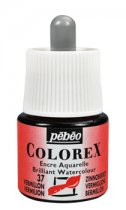 Pebeo Colorex Brilliant Watercolour 45 ml. - Vermilion