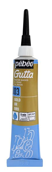 Pebeo Gutta Silk Outliner 20 ml. - 03 Pearl Gold