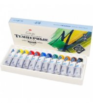 Master Class Tempera Paints Set 18 ml. - 12 Pack