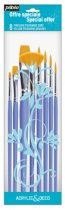 Pebeo Golden Polyamide Paint Brush Set - 8 Pack