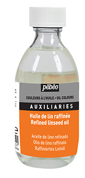 Pebeo Refined Linseed Oil 245 ml.