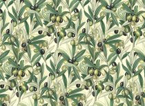 Rossi Cellulose Decoupage Paper 35x50 cm - Olives
