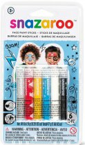 Snazaroo Face Paint Stick Boys - 6 Pack. (Central Europe)