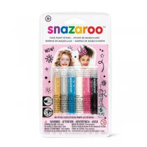 Snazaroo Face Paint Stick Girls - 6 Pack. (Central Europe)