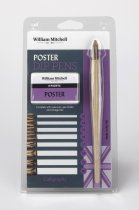 William Mitchell Poster Dip Pens Set